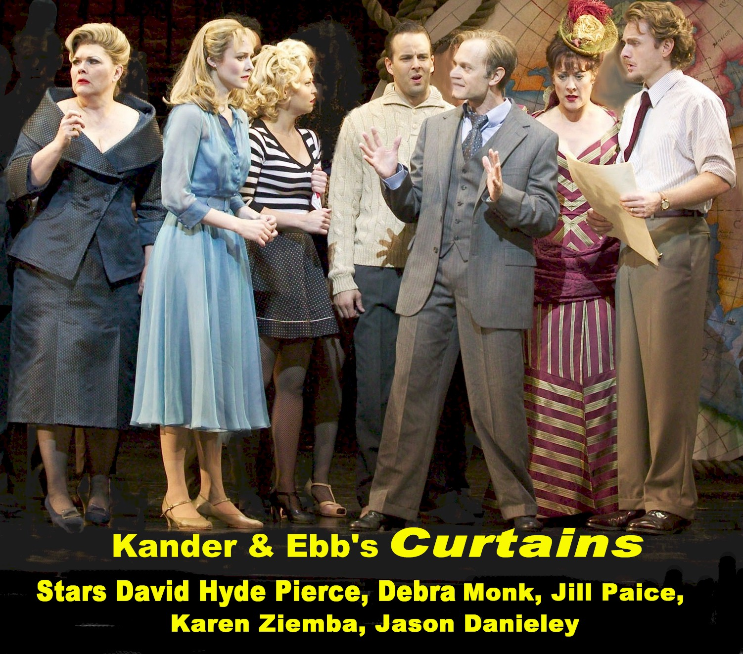 But The Show Must Go One And As It Does, Cioffi Finds Himself Caught In A  Web Of Bedlam, Deceit, Massive Theatrical Egos, A Budding Love Affair And  More ...