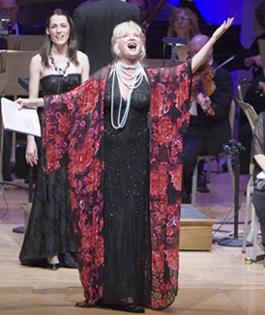 Christine Ebersole in A LITTLE NIGHT MUSIC: photo by Michael J. Lutch
