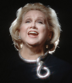Barbara Cook, photo by Mike Martin