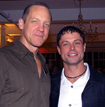 Steve Blanchard and William Suretté, photo by Michael Portantiere