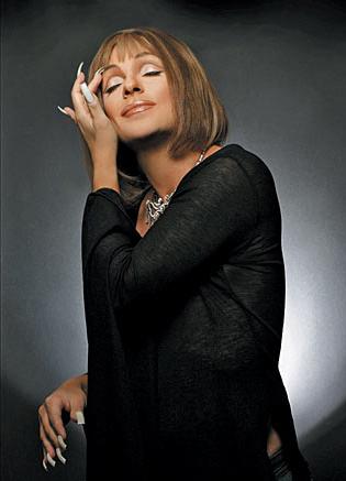 Steven Brinberg as Barbra Streisand