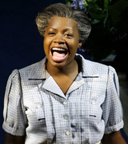 Fantasia in THE COLOR PURPLE, photo by Paul Kolnik