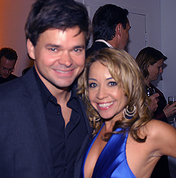 Hunter Foster and Jennifer Cody, photo by Michael Portantiere