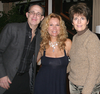 David Friedman, Kathie Lee Gifford, and Lucie Arnaz; photo by Michael Portantiere