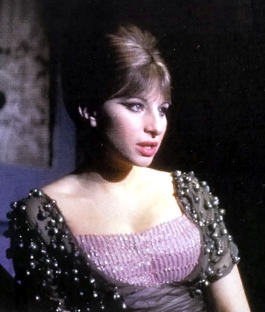 Barbra Streisand in FUNNY GIRL, photo from BROADWAY MUSICALS: THE 101 GREATEST SHOWS OF ALL TIME