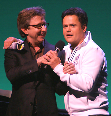 Thomas Schumacher and Donny Osmond