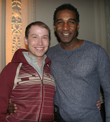 Tyler Maynard and Norm Lewis