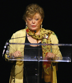 Rue McClanahan; photo by Michael Portantiere