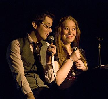 Kevin Michael Murphy and Jennifer Ashley Tepper; photo by Monica Simoes