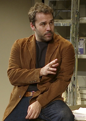 Jeremy Piven in SPEED-THE-PLOW; photo by Brigittte Lacombe