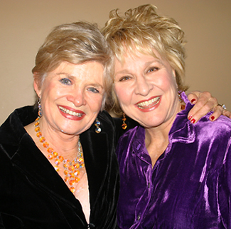 Teri Ralston and Pamela Myers; photo by Michael Portantiere