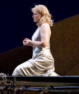 Karita Mattila in SALOME; photo by Marty Sohl/Metropolitan Opera