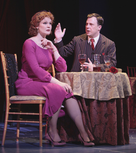 Kate Baldwin and Brooks Ashmankas in SHE LOVES ME; photo by T Charles Erickson