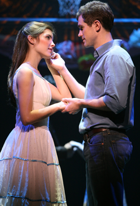 Josefina Scaglione and Matt Cavenaugh in WEST SIDE STORY; photo by Joan Marcus