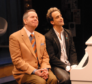 Peter Bartlett and David Pittu in WHAT'S THAT SMELL: THE MUSIC OF JACOB STERLING; photo by Doug Hamilton